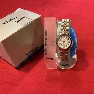 Timex two tone watch